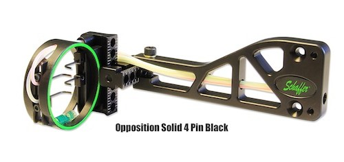 Opposition Solid 4 Pin Black
